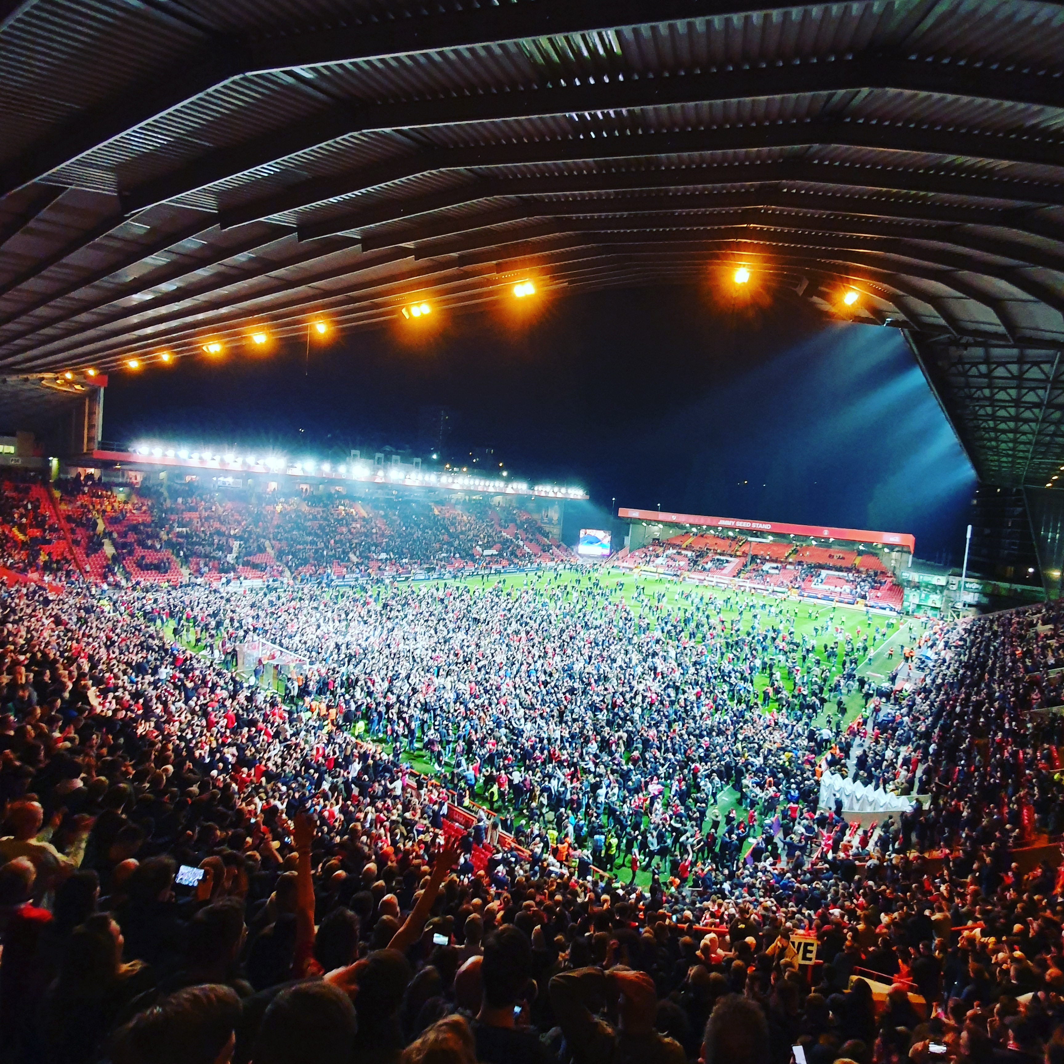 The Doncaster Pitch Invasion