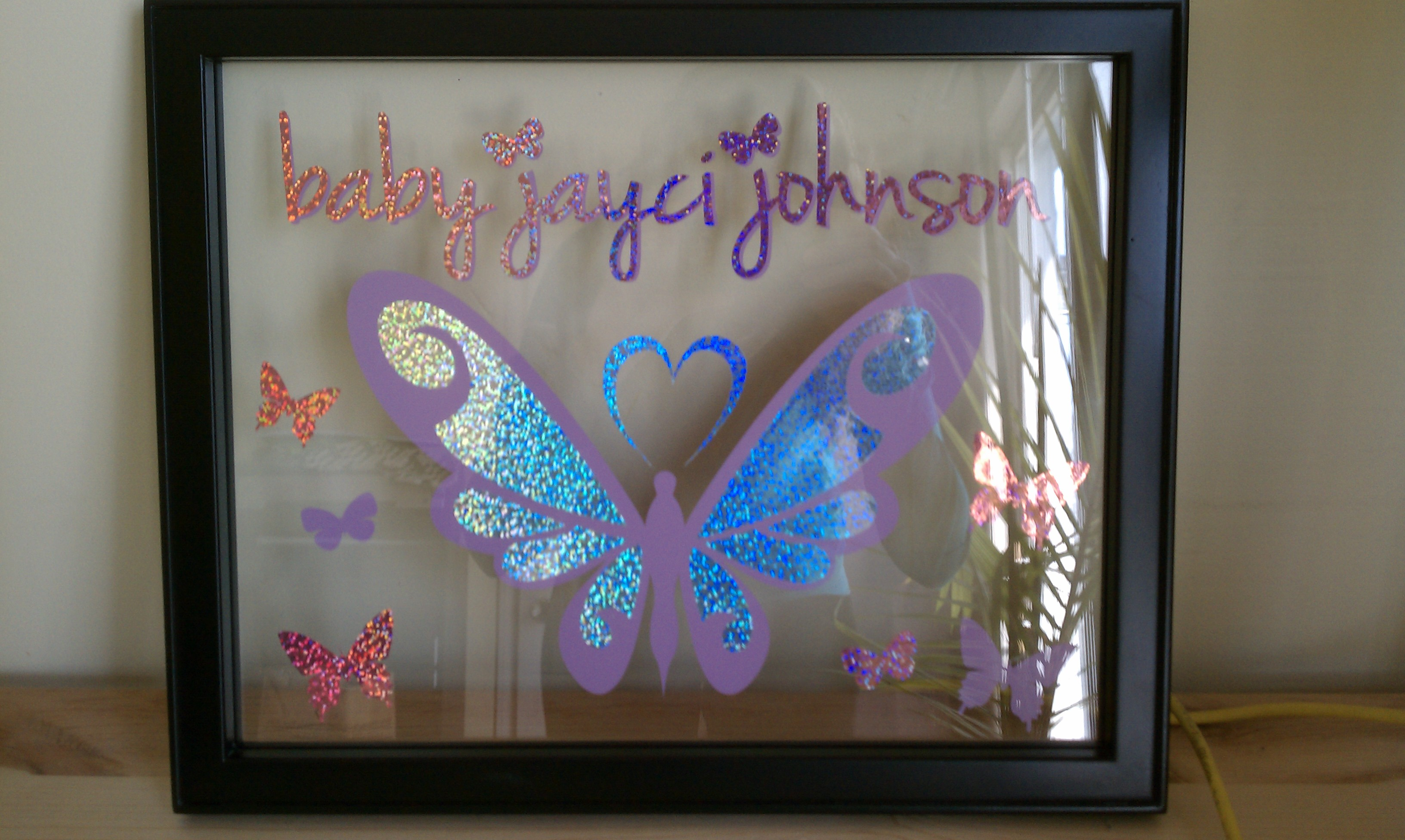 Floating Frame Baby Shower Gift Make The Cut Forum