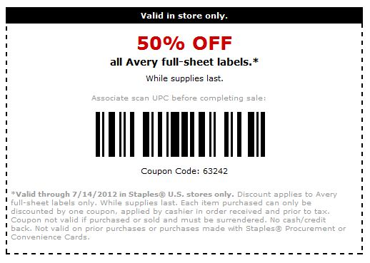 Enabler Alert Staples 50% off, clear report covers, binding supplies