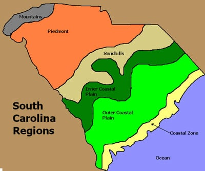 How to get SC Regions map in layers and in color? — Make The Cut ...