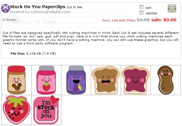 Stuck on You Paperclips Cut-Its set FREE! — Make The Cut! Forum