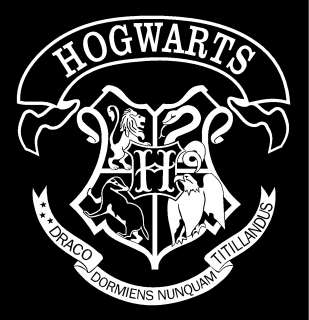 121644790_harry Potter Hogwarts School Crest Vinyl Car Window  ...