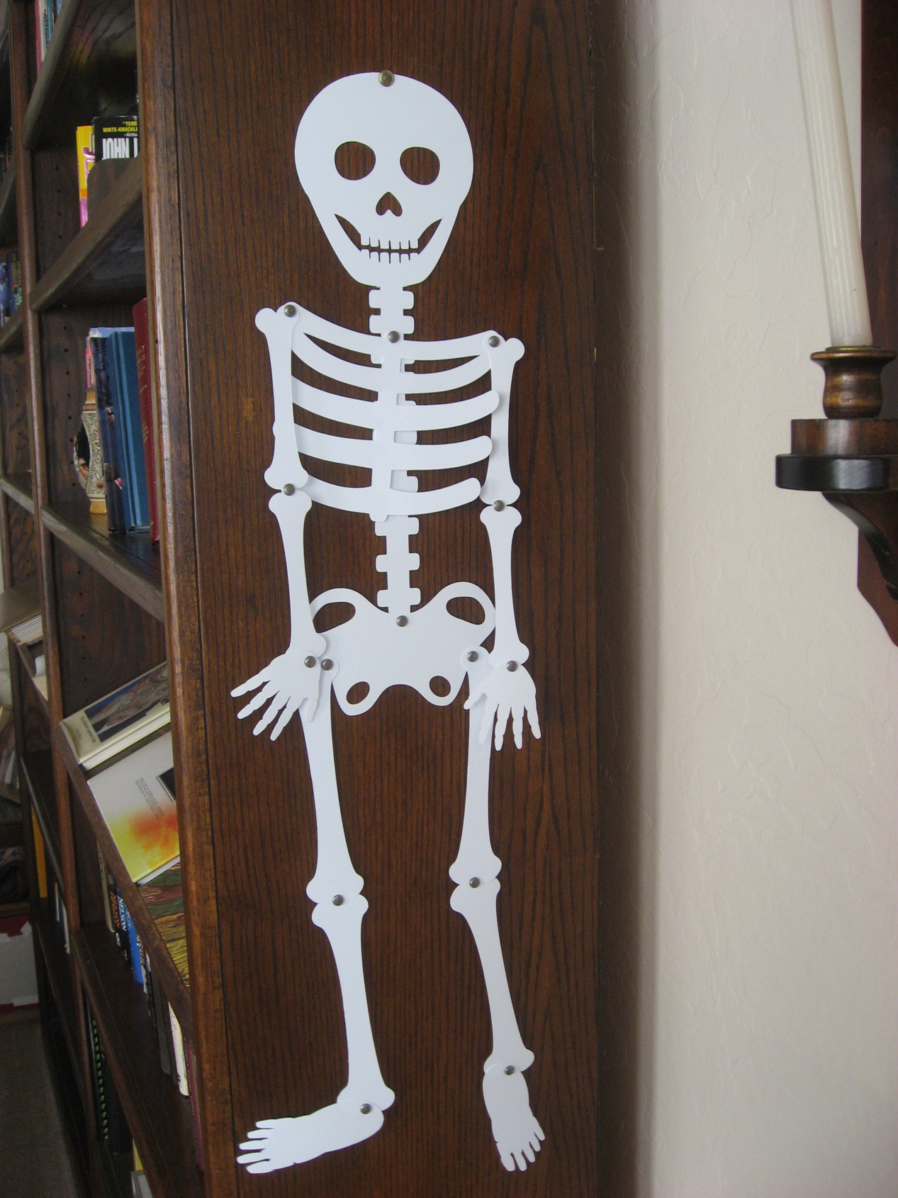 paper plate skeleton Find great deals on ebay for halloween paper plates shop with confidence.