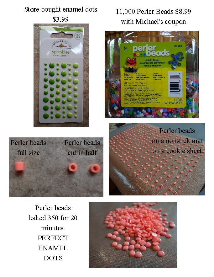 You CAN make your own enamel accents!!! — Make The Cut! Forum