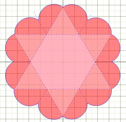 exploding box template hexagon make the cut forum