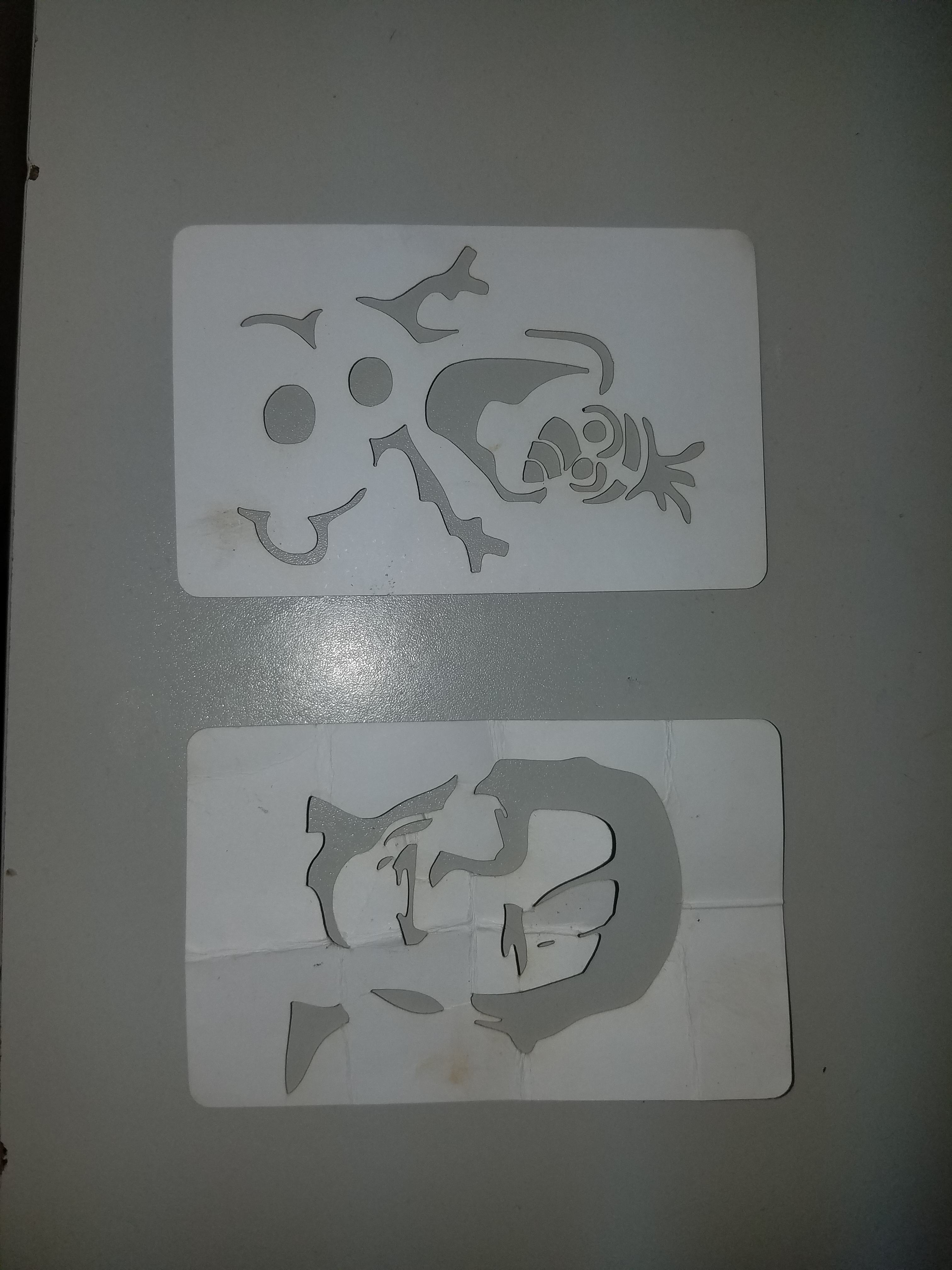 New to Cricut maker, id like to cut paper stencil design