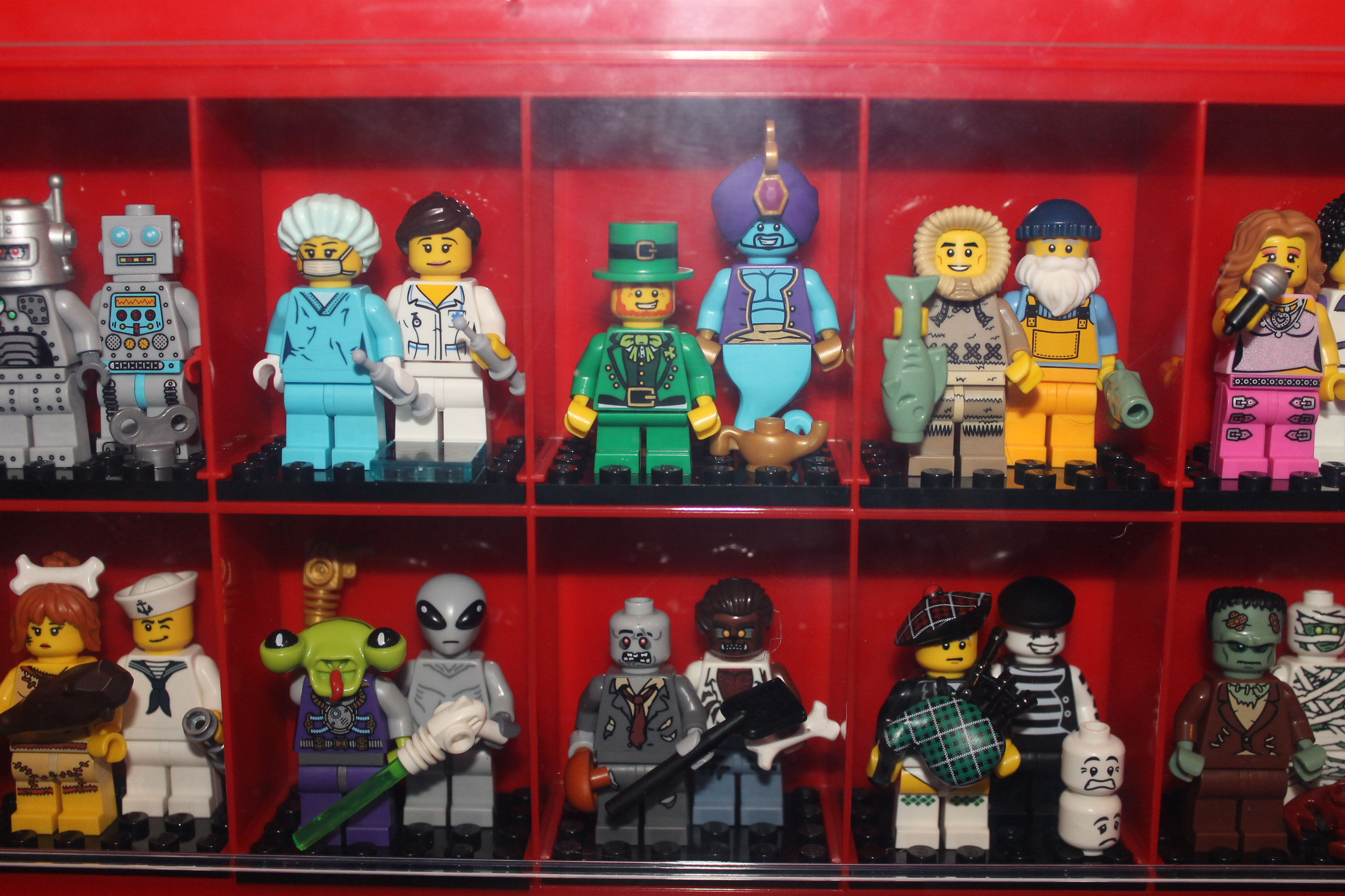 How Do You Display Minifigs Page 10 Brickset Forum