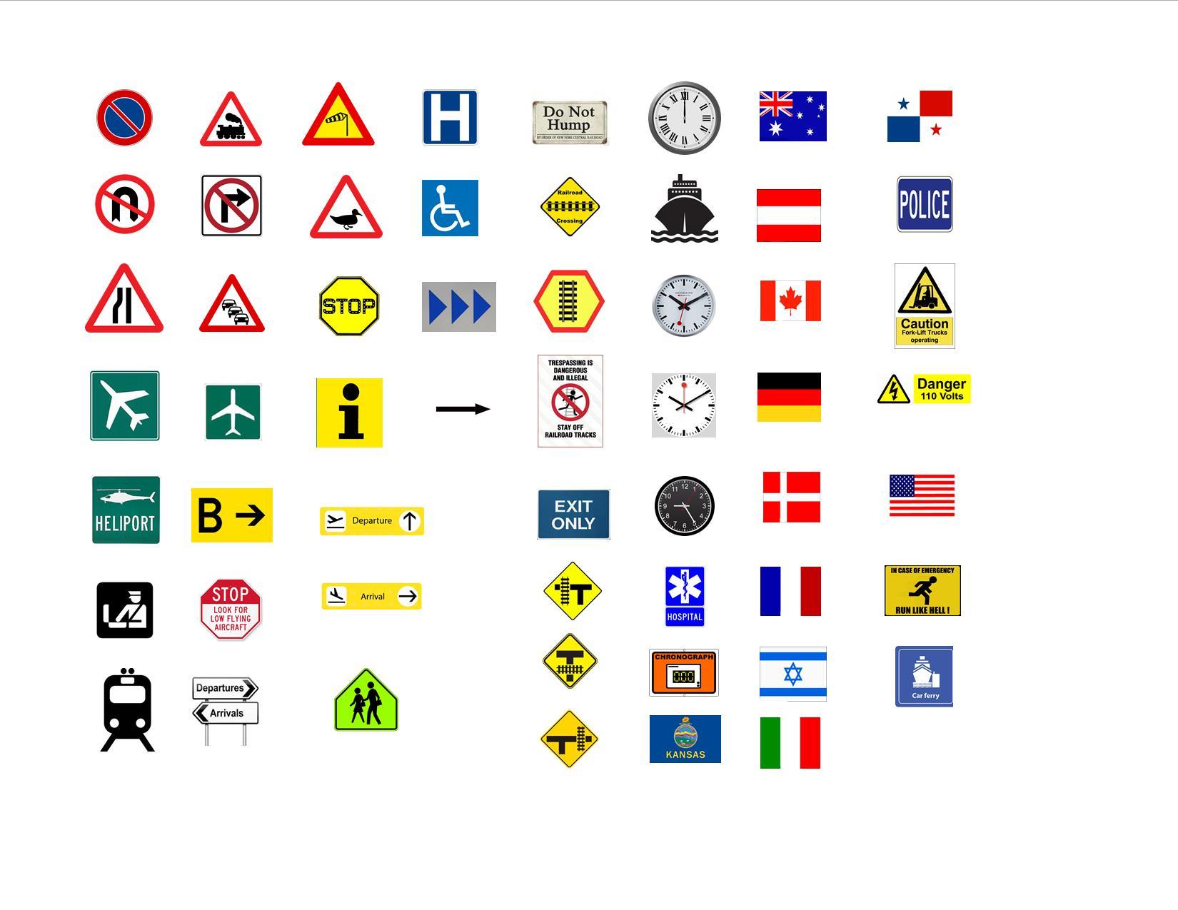 Graphics Files for Custom LEGO Signs u2014 Brickset Forum