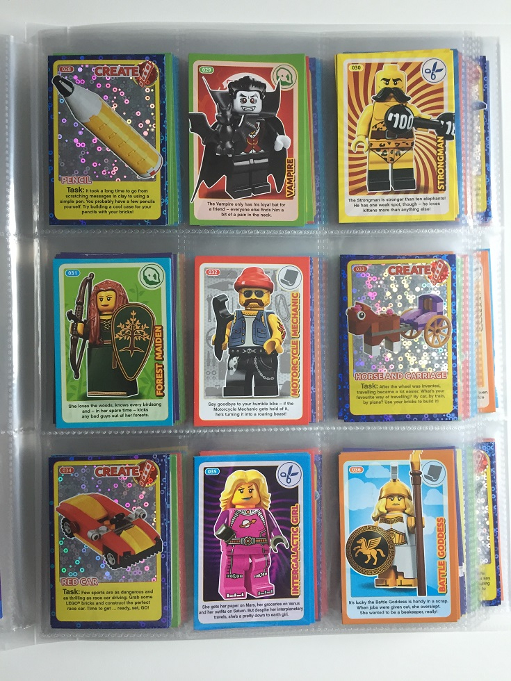 No 131 LEGO Sainsburys Create The World Incredible Inventions cards 131 all set