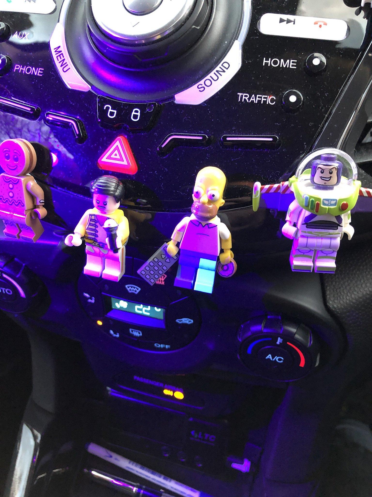 Lego 6  Leg  Legs Lower Parts For Minifigure Figure  Purple