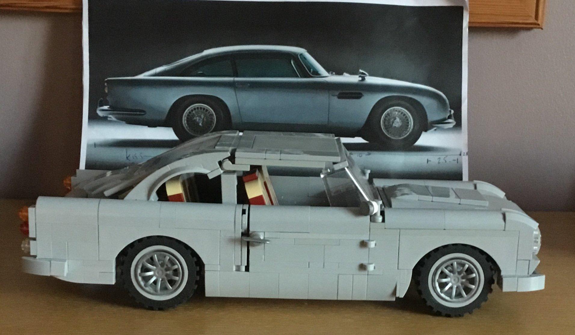 007 aston martin official lego brickset forum. Black Bedroom Furniture Sets. Home Design Ideas