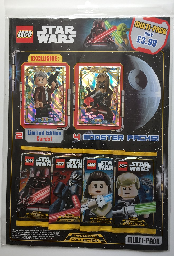 200 Booster Lego® Star Wars Trading Card Game 4 x Display