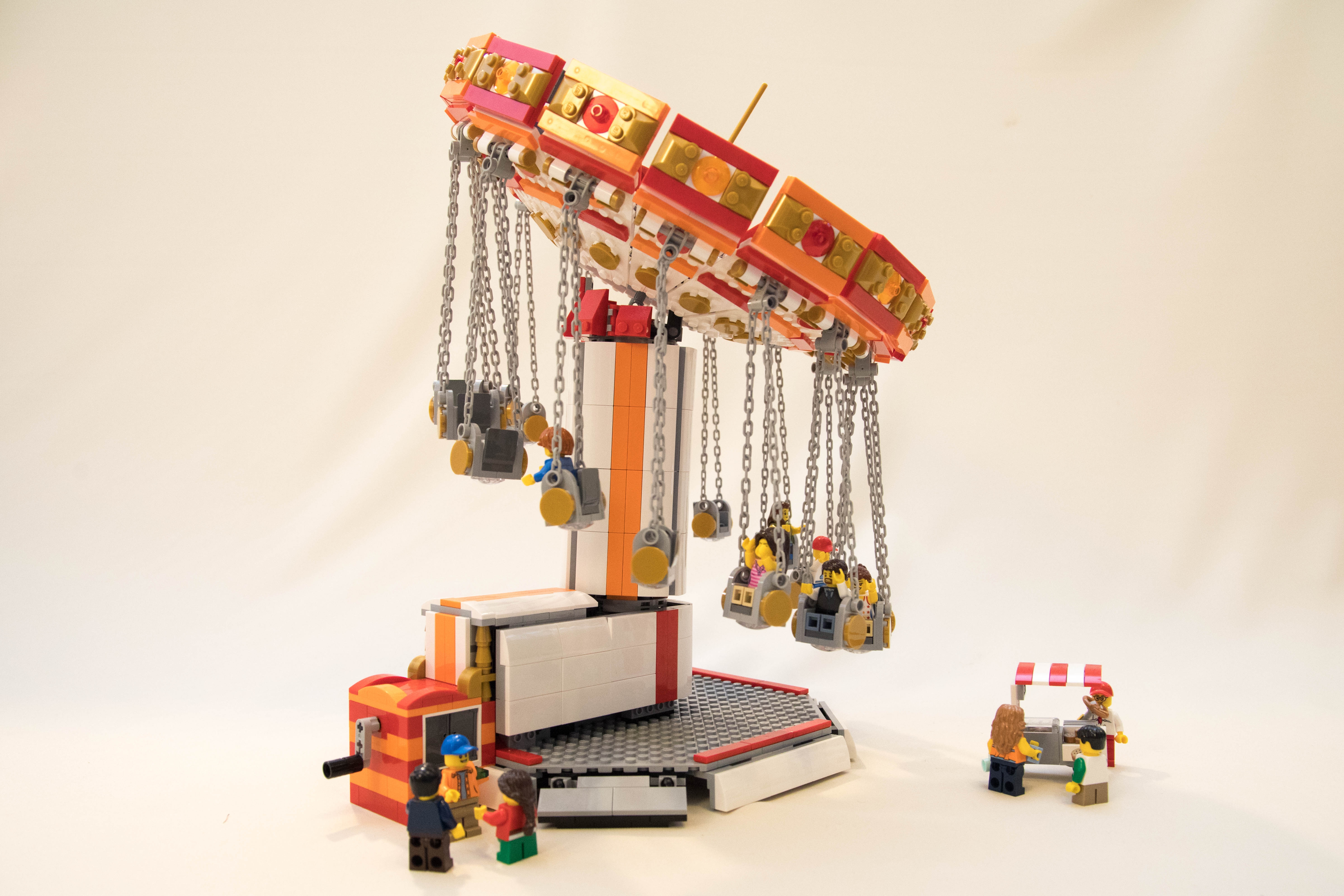 Лего карусель картинка