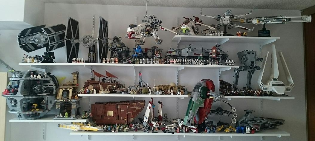 What my Collection looks like in all in one place. — Brickset Forum