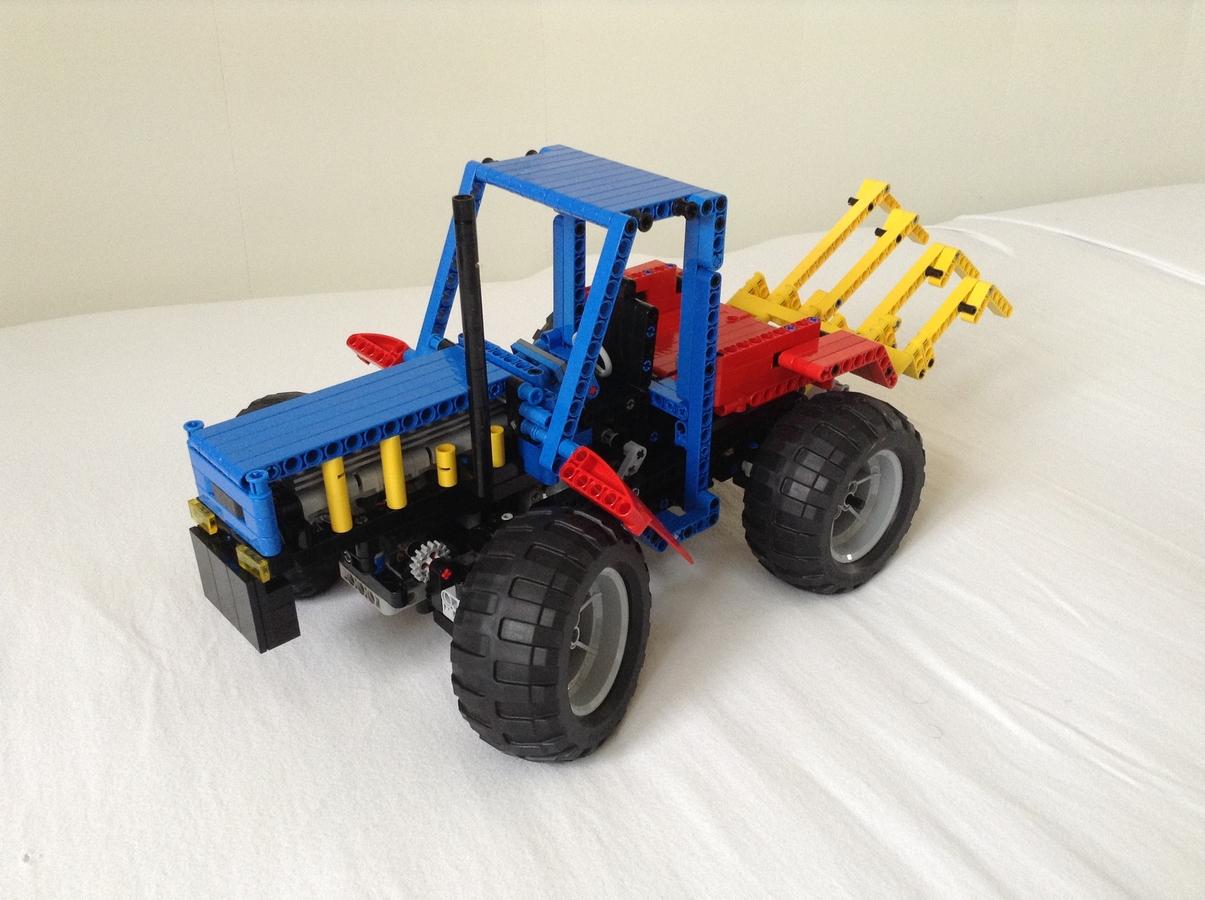 Lego Technic 8859 Revival Moc Brickset Forum