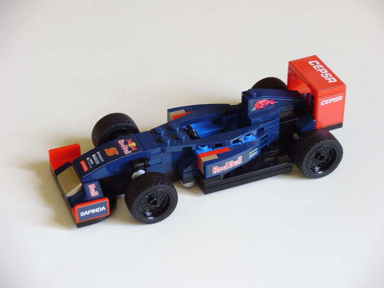 f1 speed champions all f1 teams custom stickers brickset forum. Black Bedroom Furniture Sets. Home Design Ideas