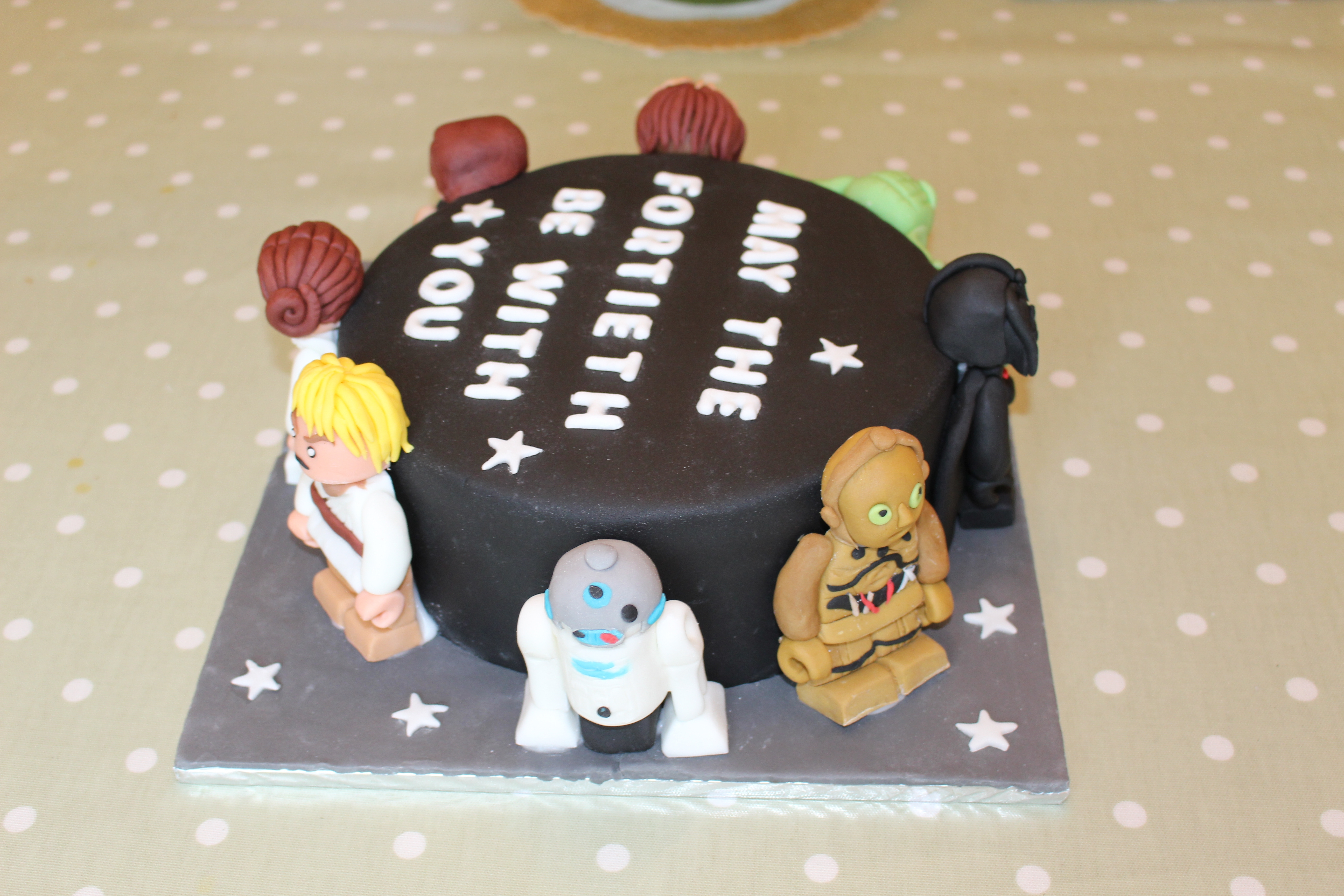 Star Wars Lego 40th Birthday Cake Brickset Forum