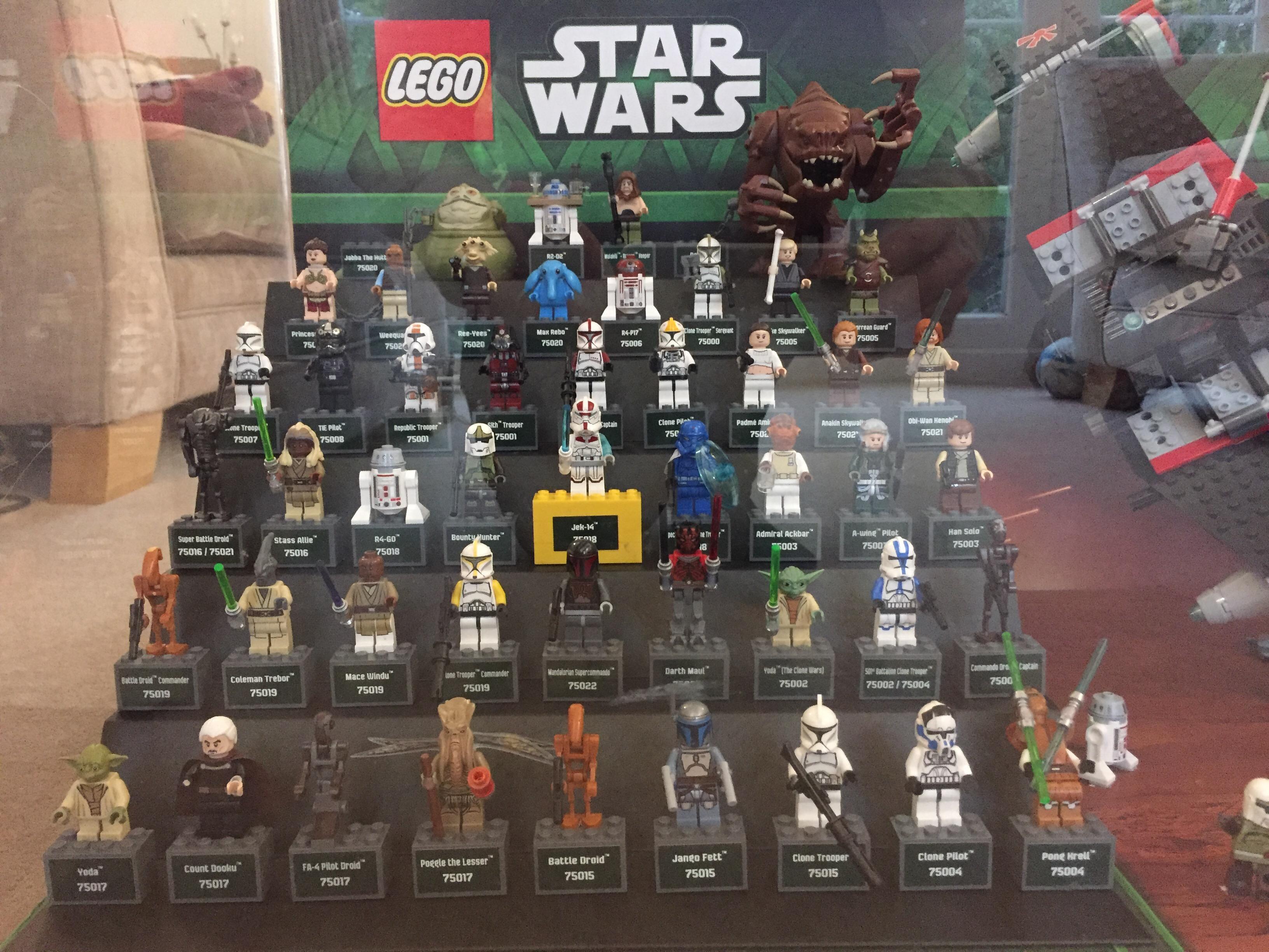 lego store displays minifigure displays brickset forum