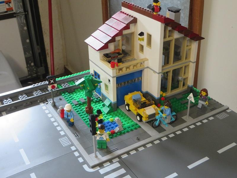also wanted to use the modular buildings attached on