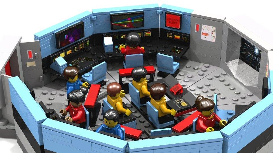 So Why No Star Trek Licensed Sets Brickset Forum