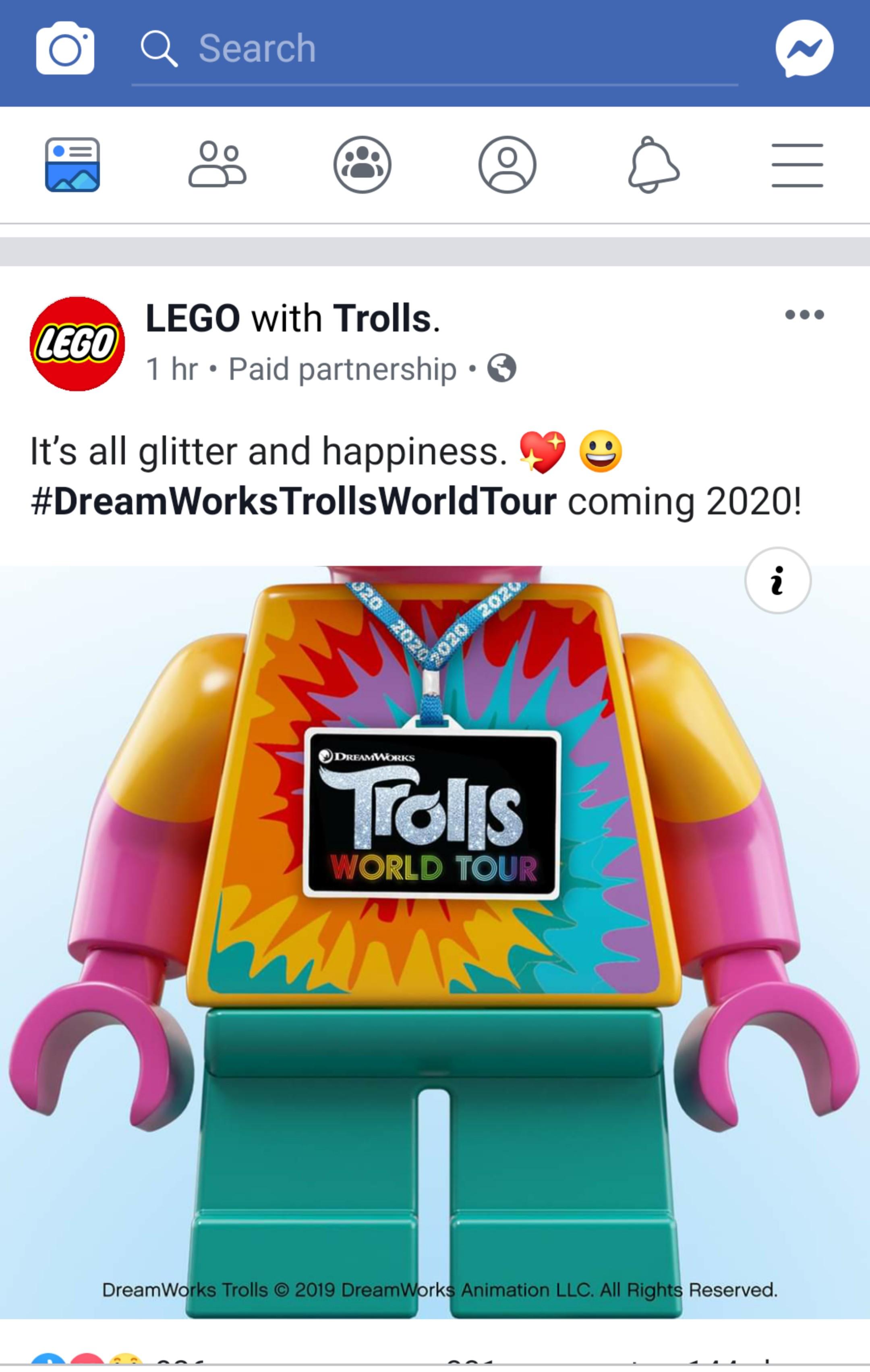 6e53e110c164 Free Shipping Lego Trolls World Tour Sets Coming In