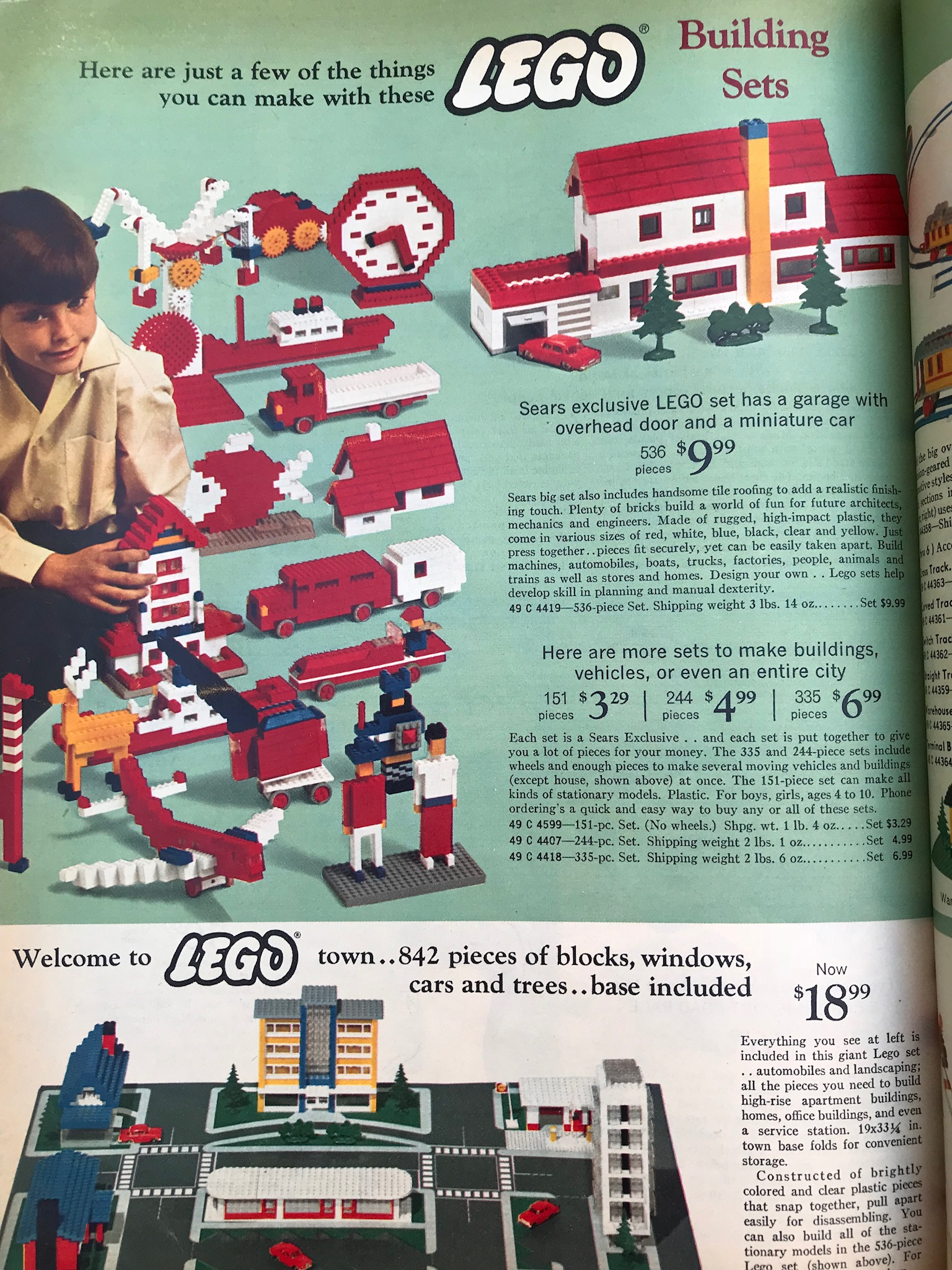 ce645a79d5db My husband saved this catalog from his childhood. It is part of our  Christmas decor. I thought you all might enjoy seeing the prices and pieces  of these old ...