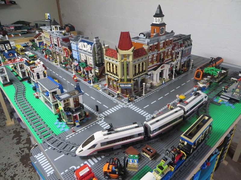 Lego City And Train Layout Brickset Forum