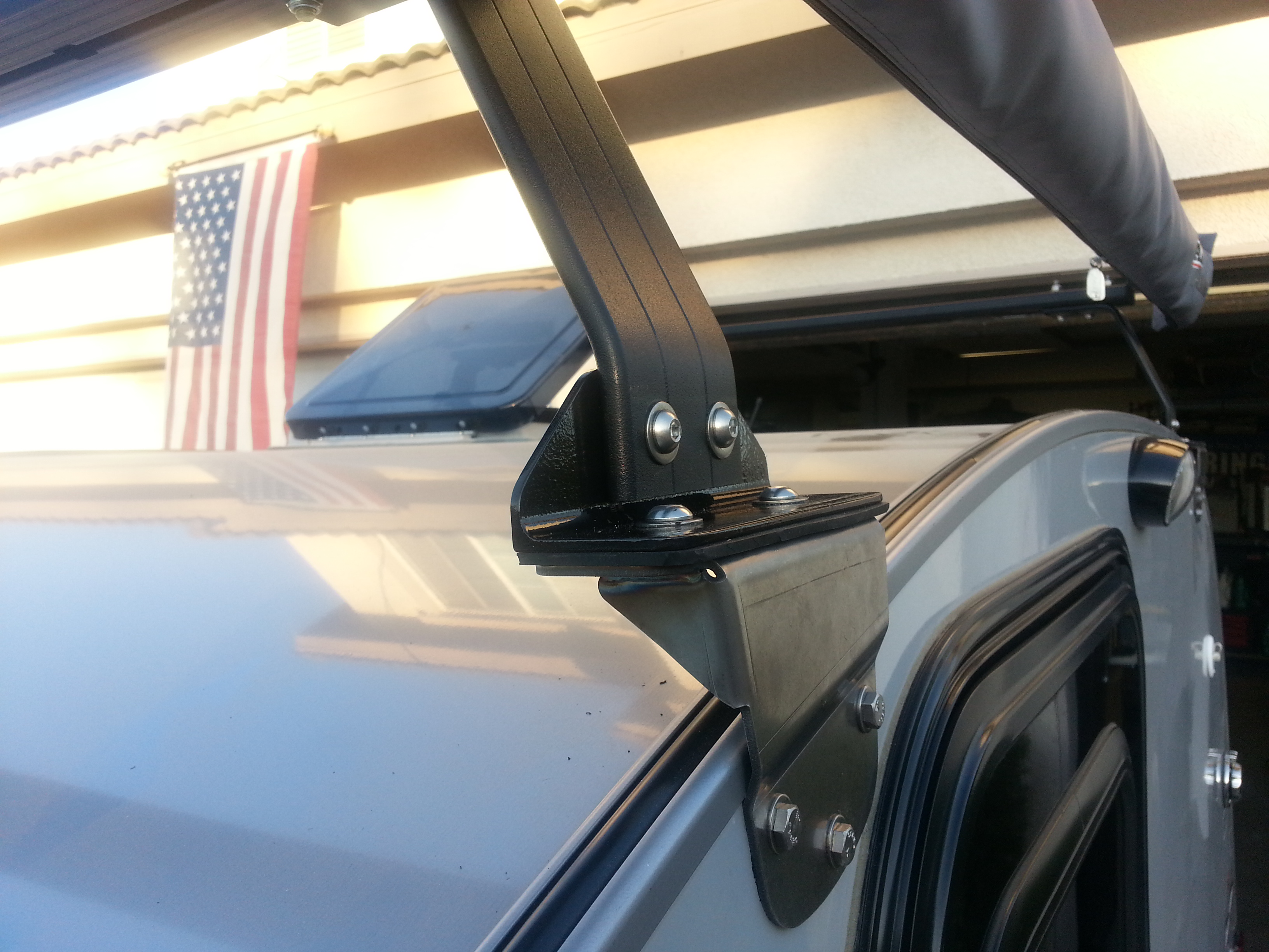 Roof Rack And Arb Awning Install Little Guy Forum