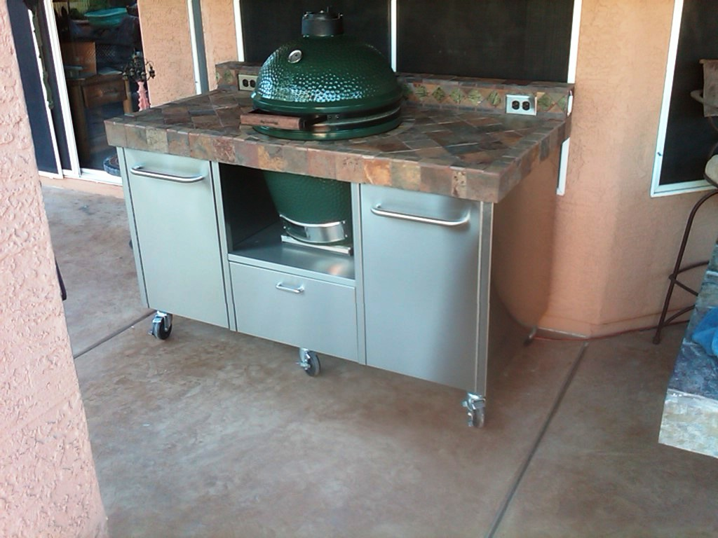 Need help building a table from Naked Whiz website — Big Green Egg ...