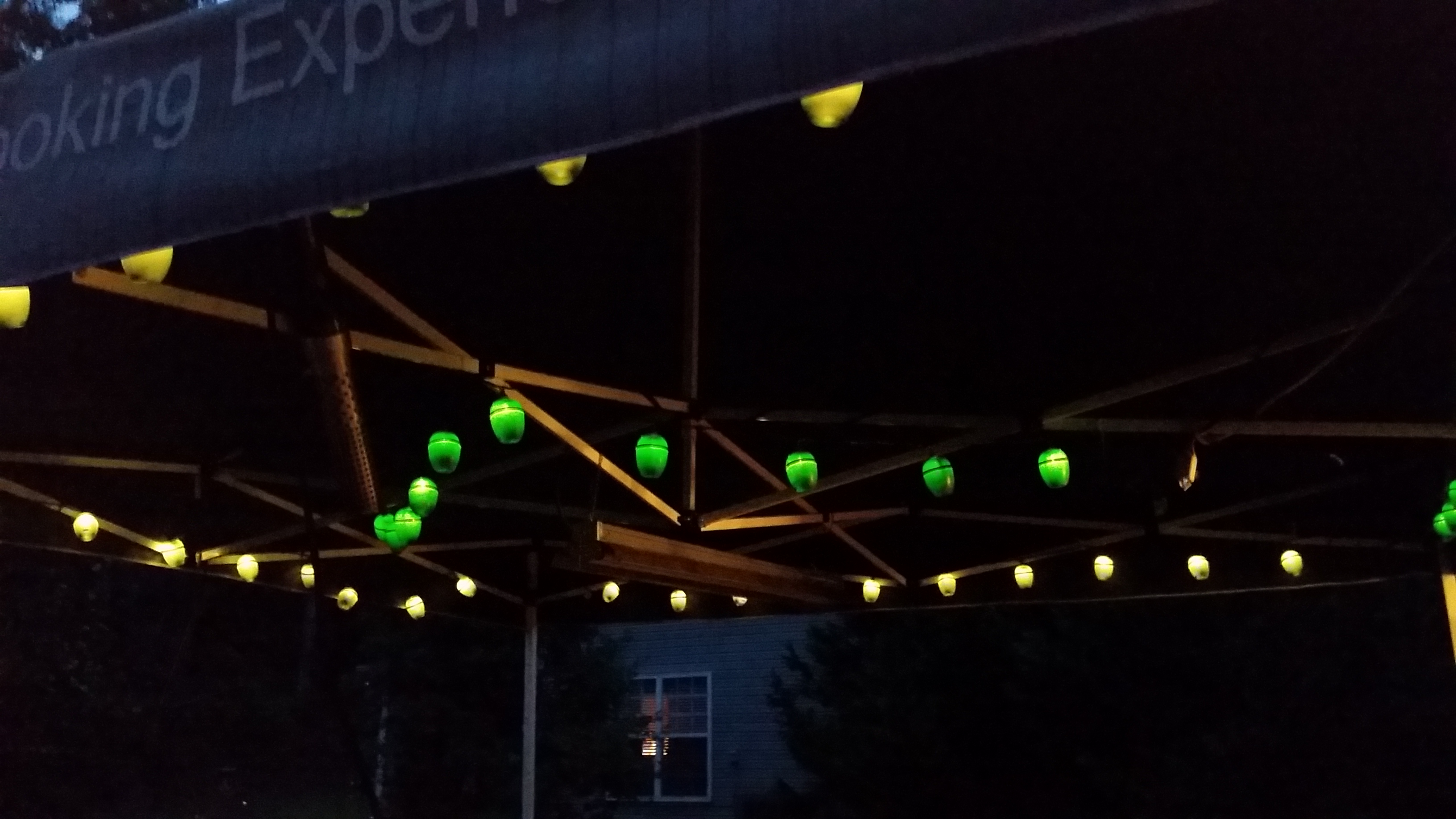 What Did You Do With Your Green Egg Patio Lights