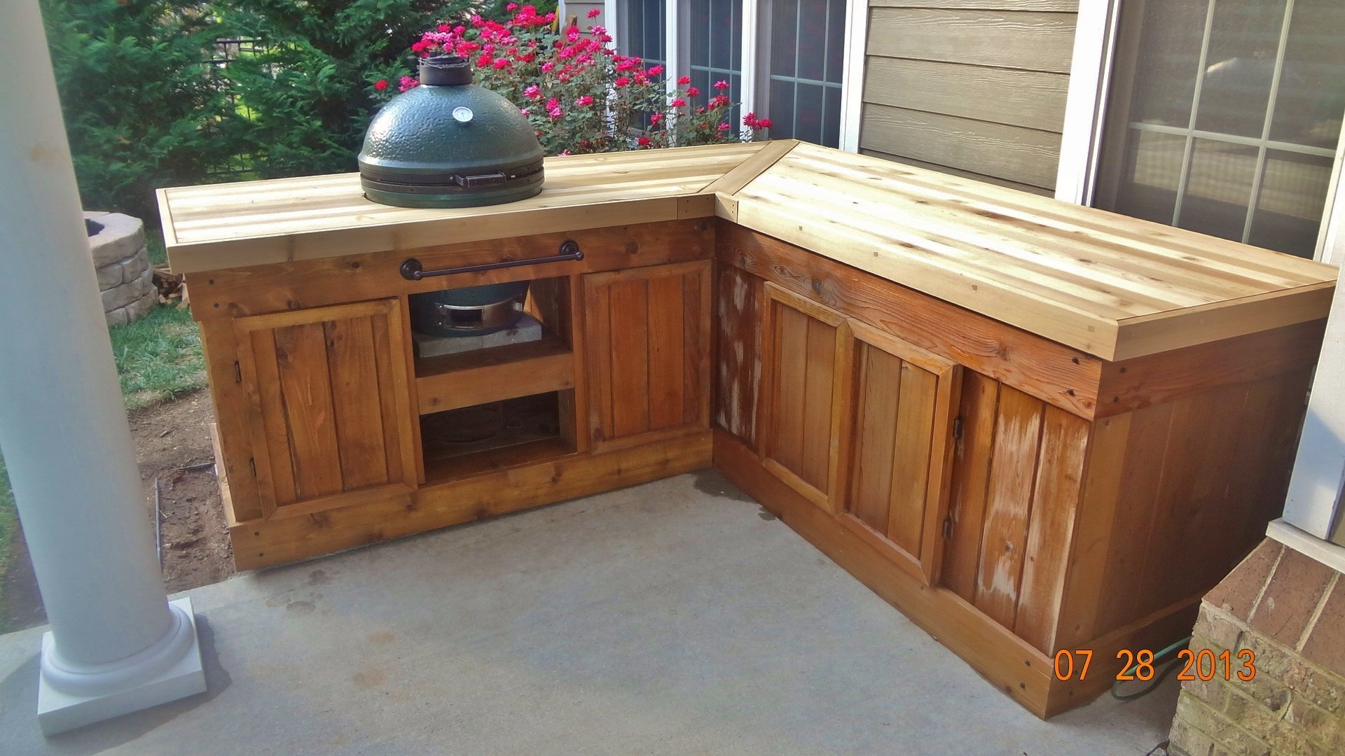 Big Green Egg Cabinet Sobkitchen