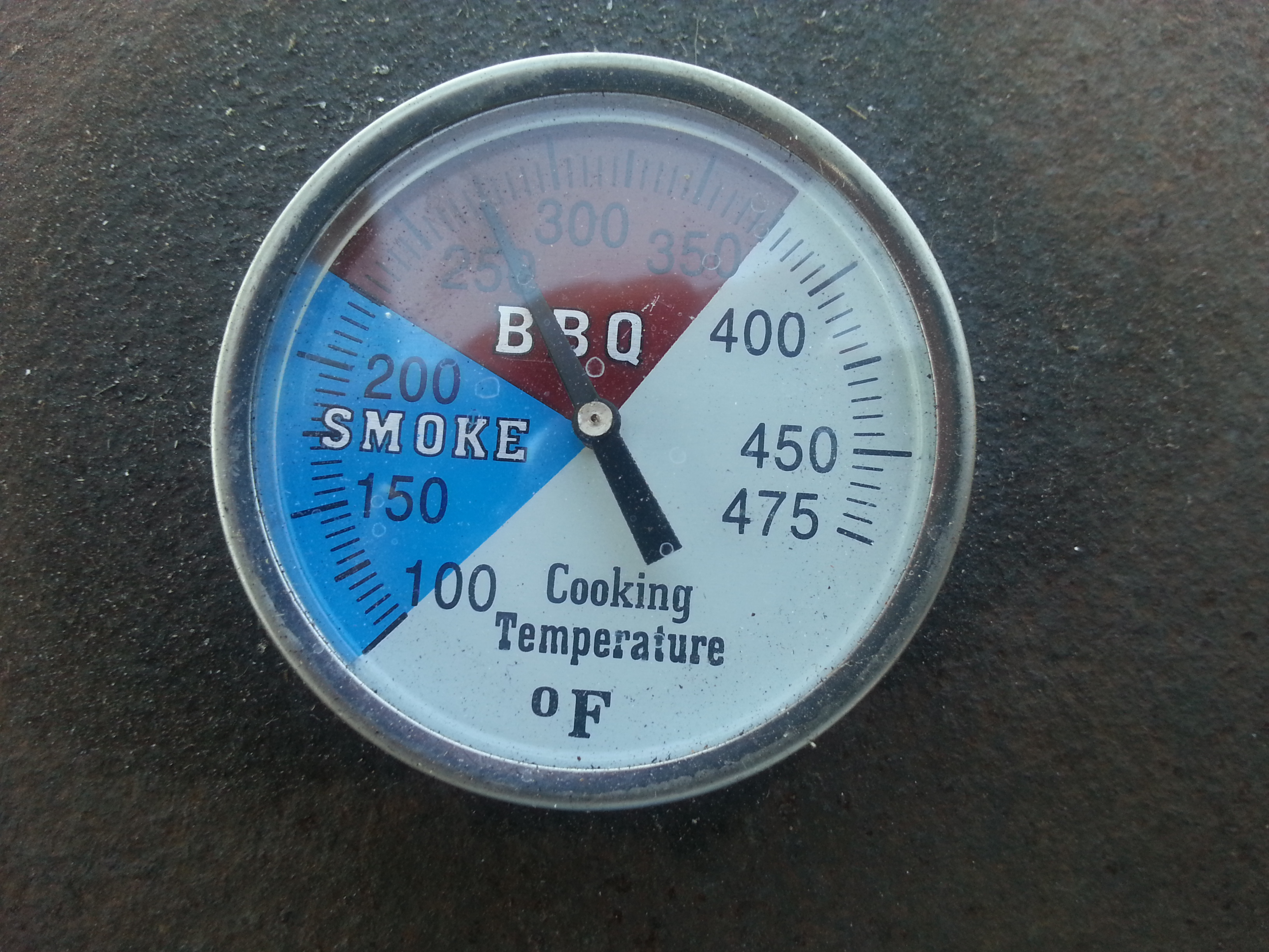 big green egg thermometer instructions