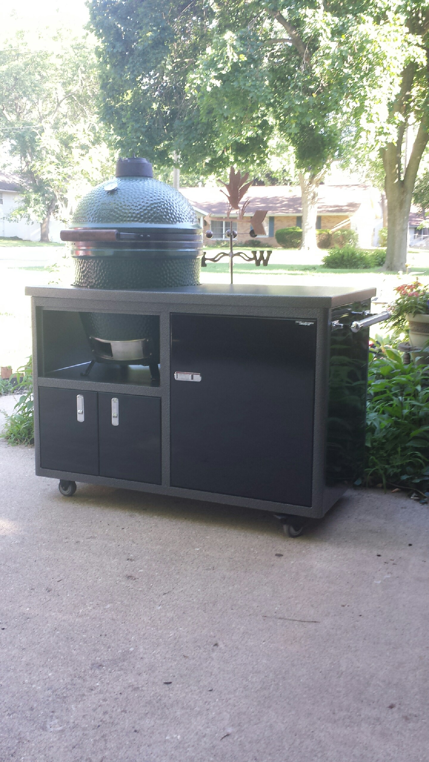 New Challenger Cabinet Big Green Egg Egghead Forum