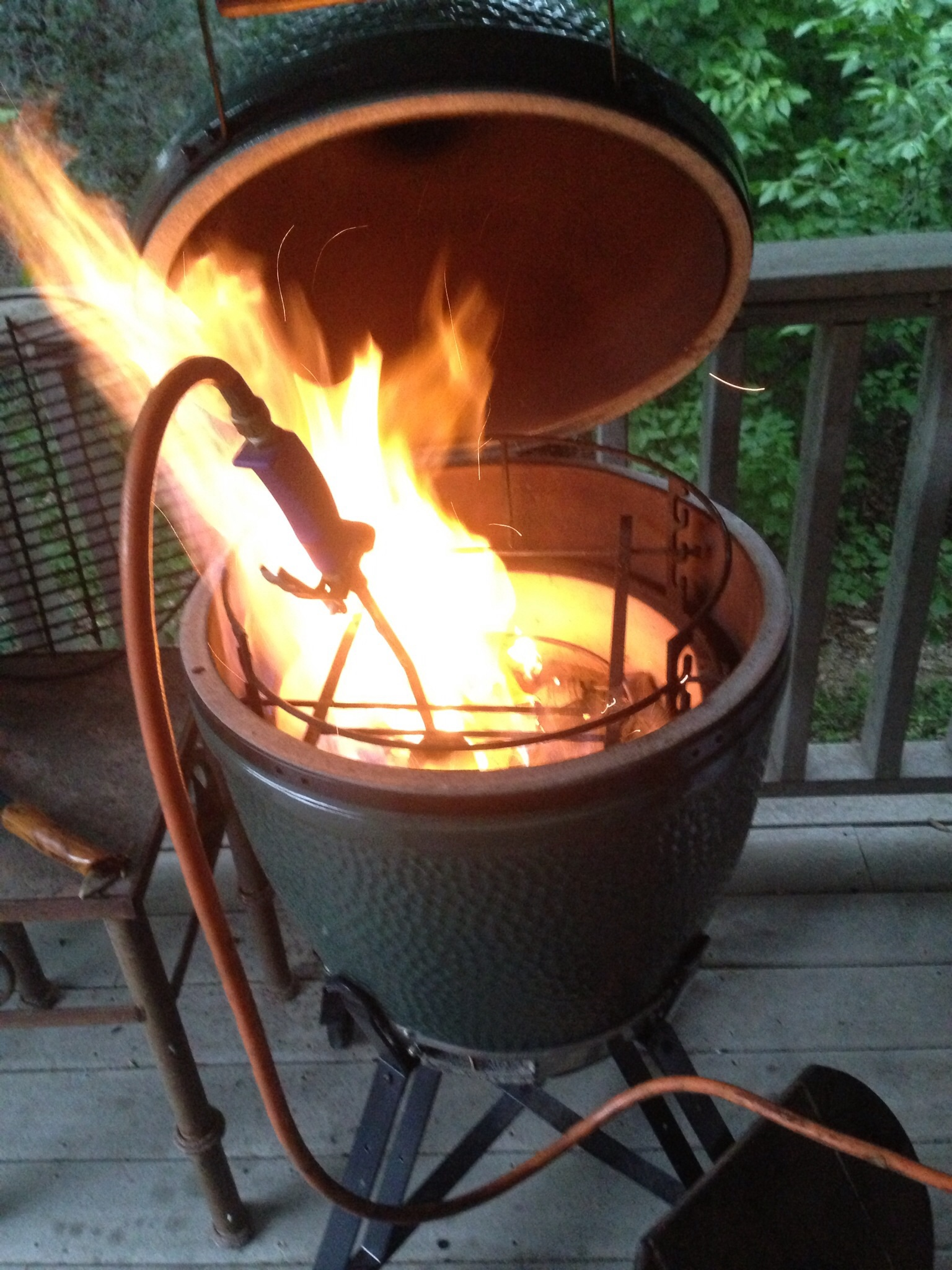 Low And Slow Lighting Green Egg Egghead Forum The