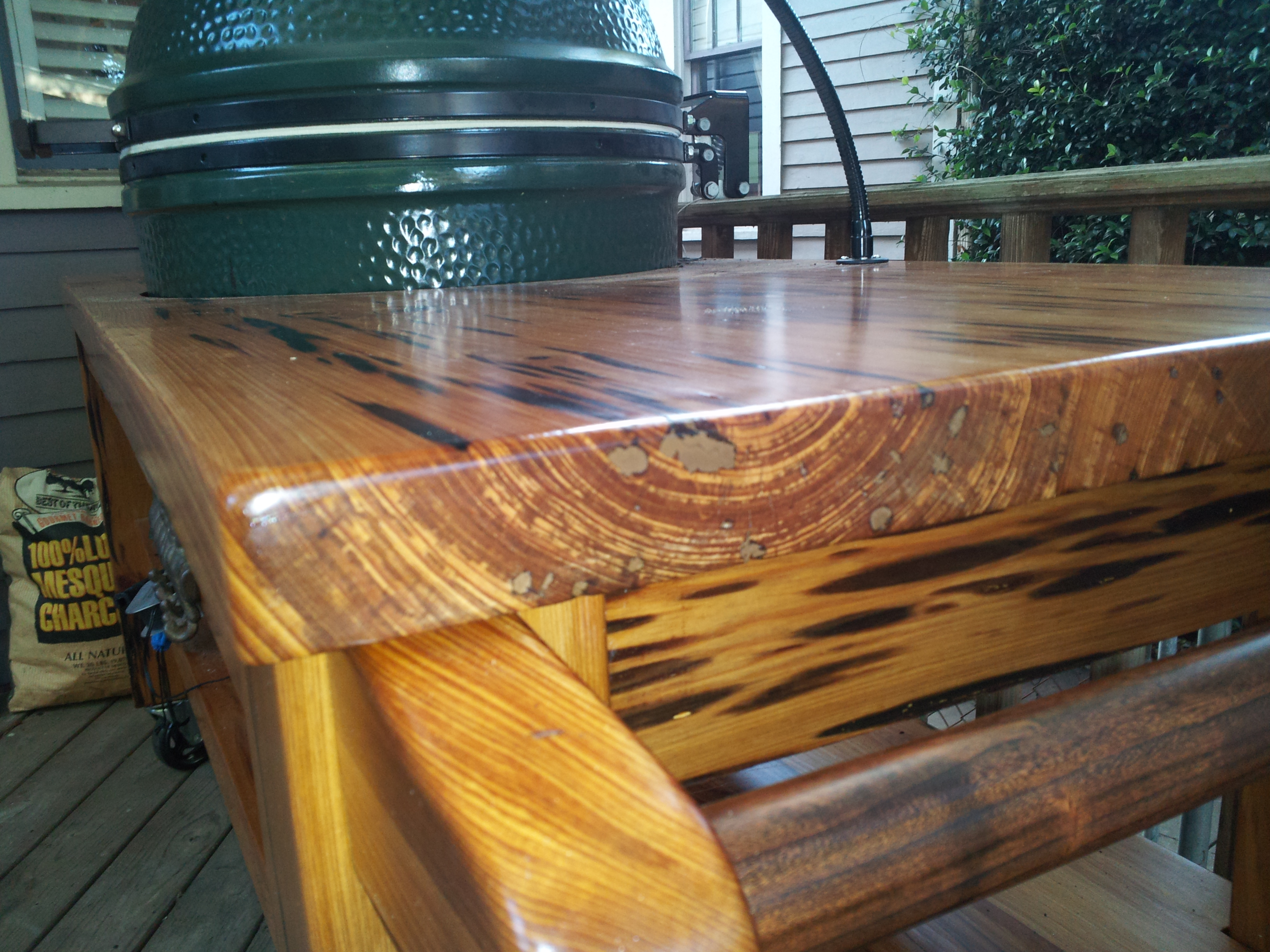 Image result for nolaegg head pecky cypress table