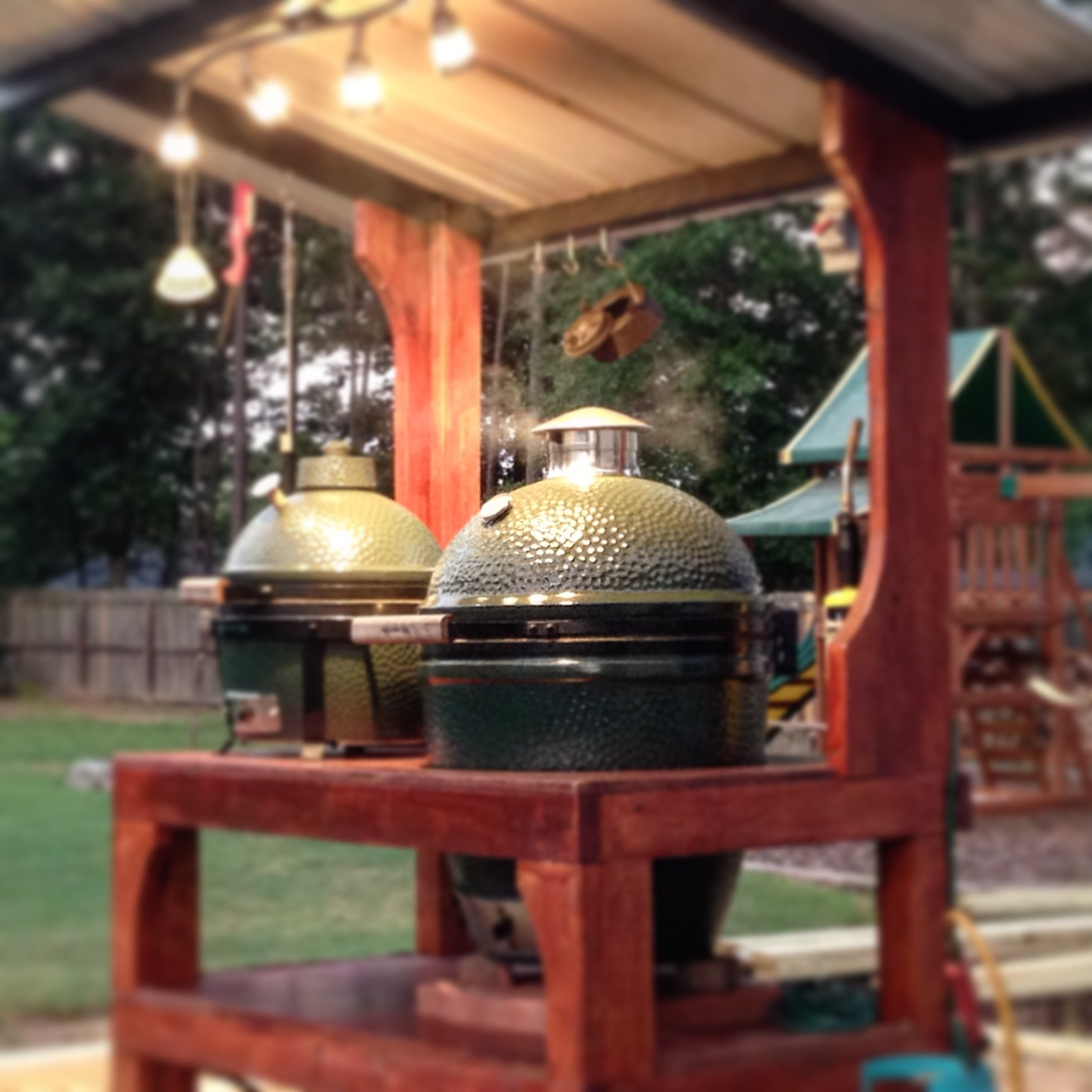 Roofs Over My Egg Big Green Egg Egghead Forum The