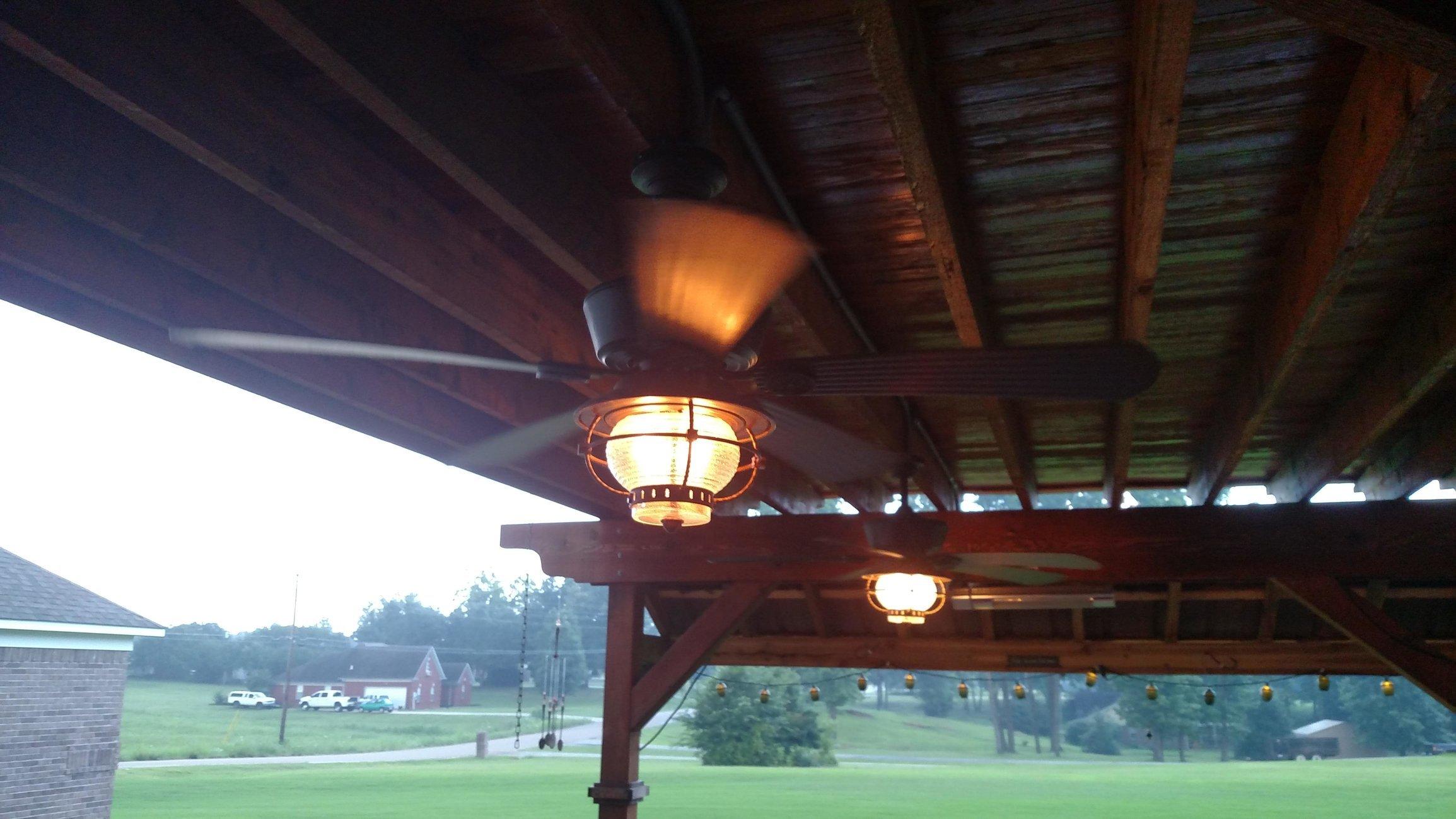 ot which ceiling fans did you install for your patio big green rh eggheadforum com