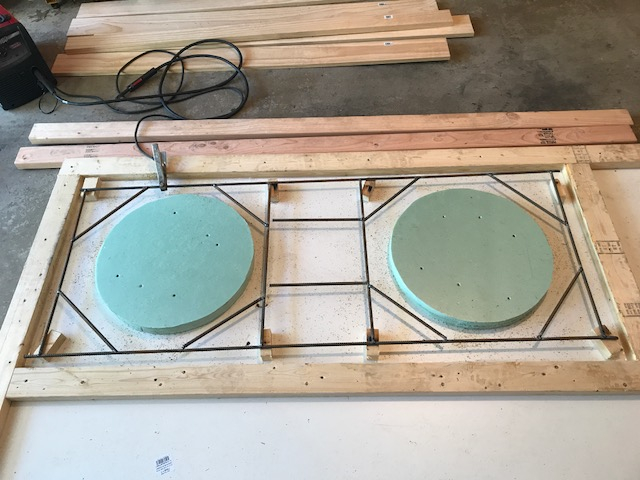 Concrete Table For Eggs, New To Forum