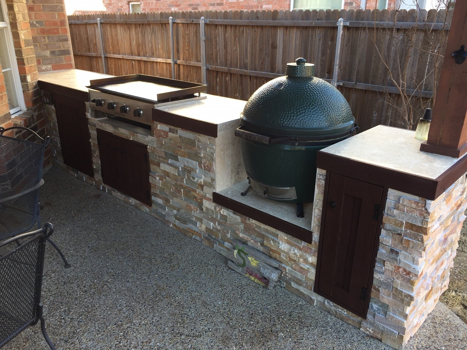 New Outdoor Kitchen Amp Covered Patio W Pics Big Green