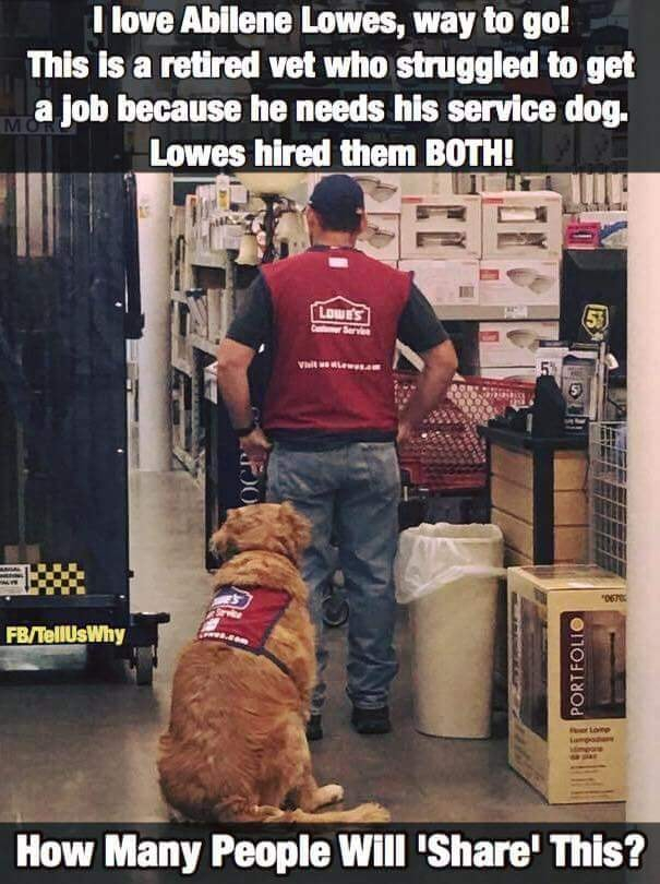 Ot Another Reason I Shop At Lowe S Instead Of Home Depot Big