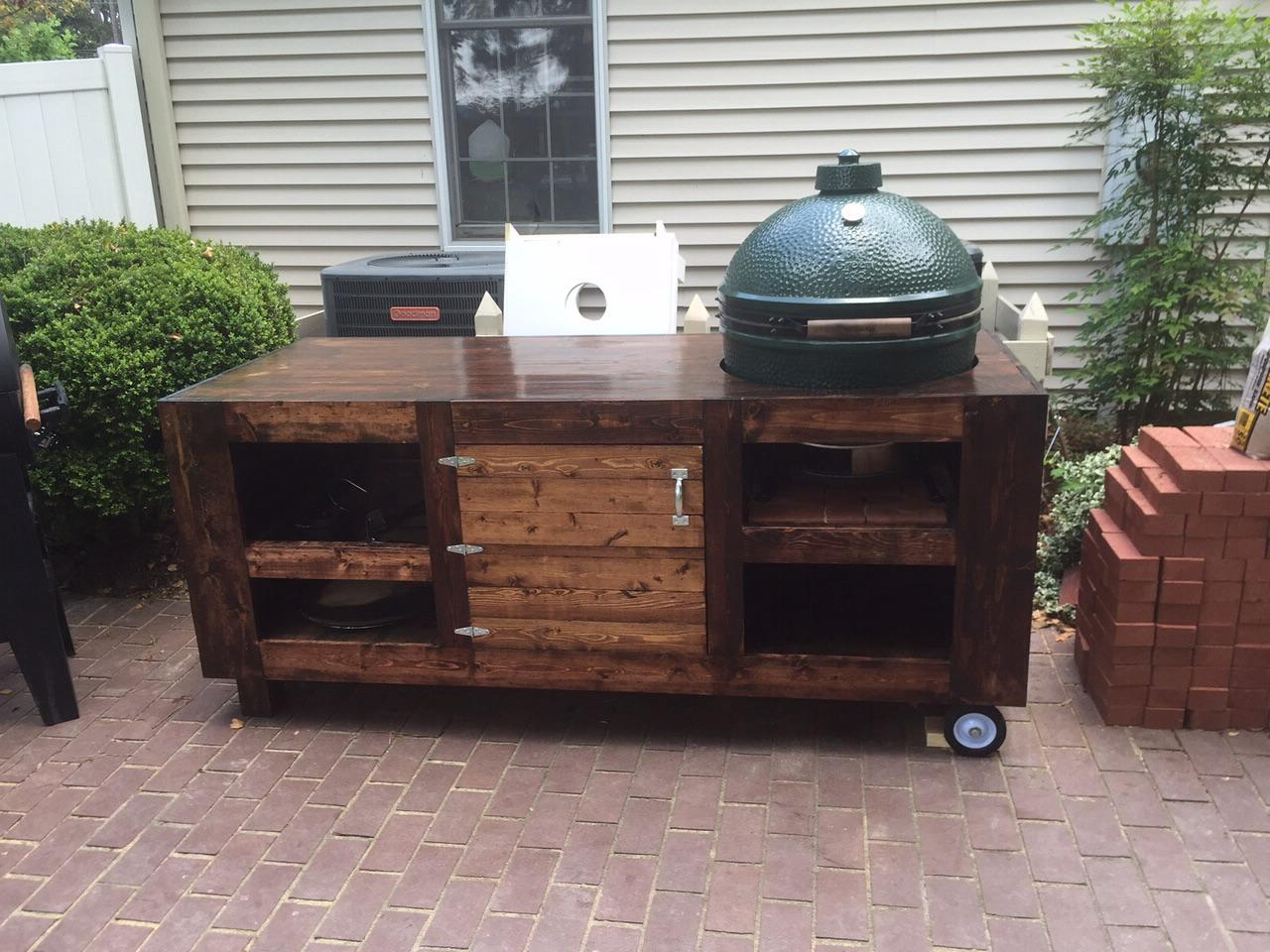 Xl Big Green Egg Table Plans Pdf