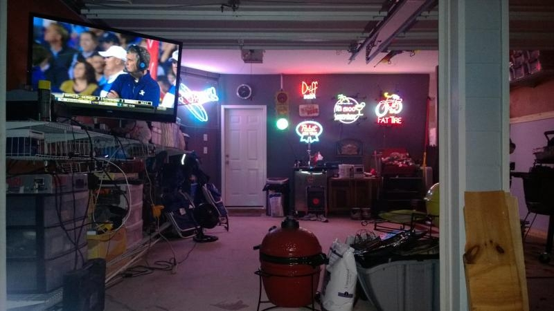 Man Cave Turkey Burgers : Show us your shop man cave and what hobbies do you have