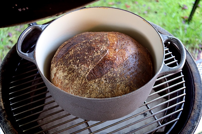 Crusty Bread Baked In The Egg Via A Dutch Oven With Pics