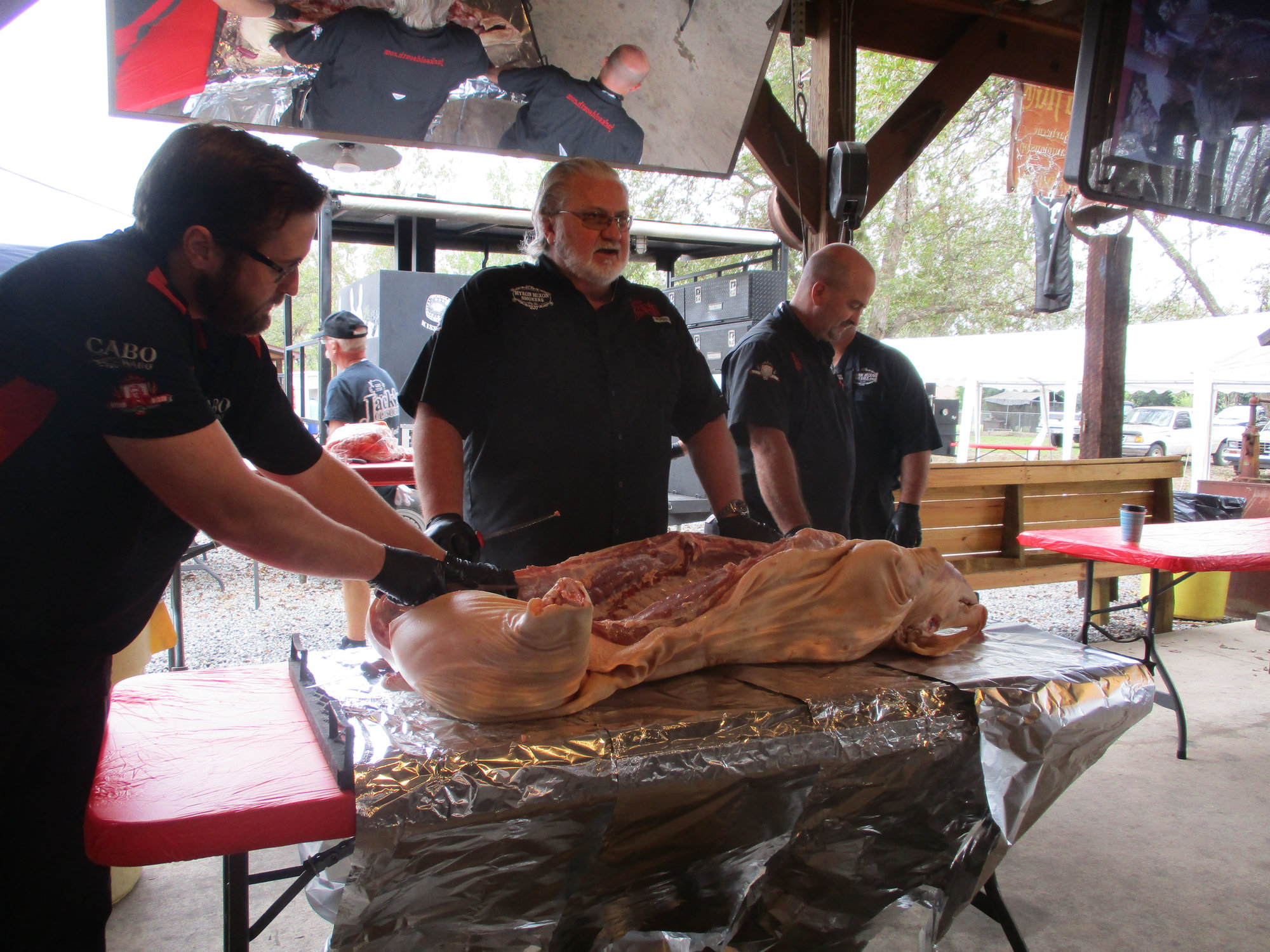 Myron Mixon Cook Class Report Big Green Egg Egghead Forum The Ultimate Cooking Experience