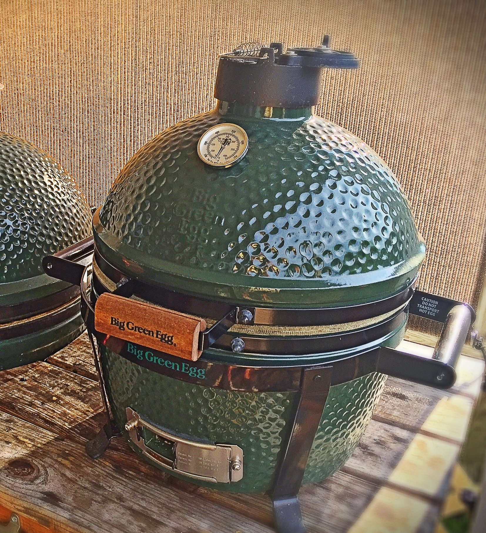 adopted mini max big green egg egghead forum the. Black Bedroom Furniture Sets. Home Design Ideas