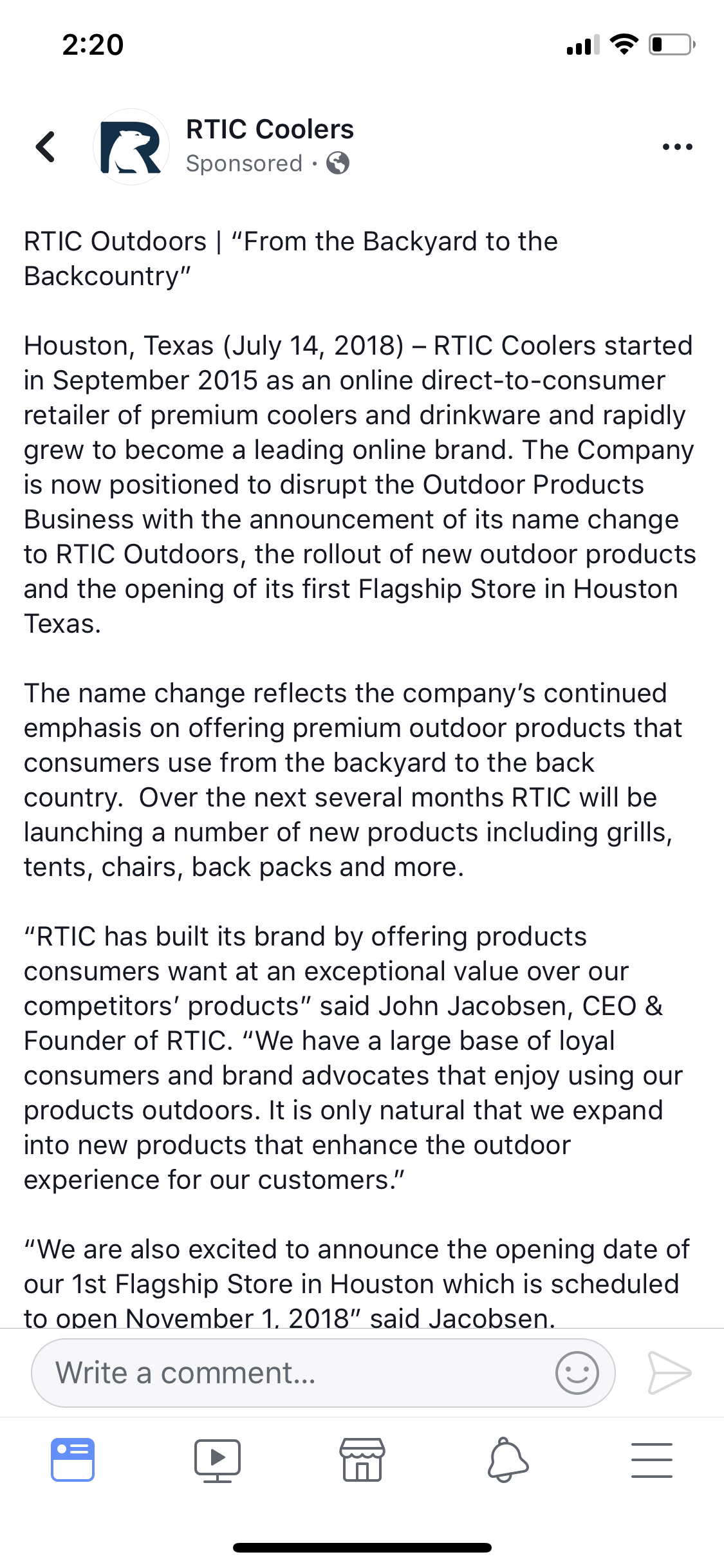 OT—RTIC Coolers now RTIC—OT — Big Green Egg - EGGhead Forum - The