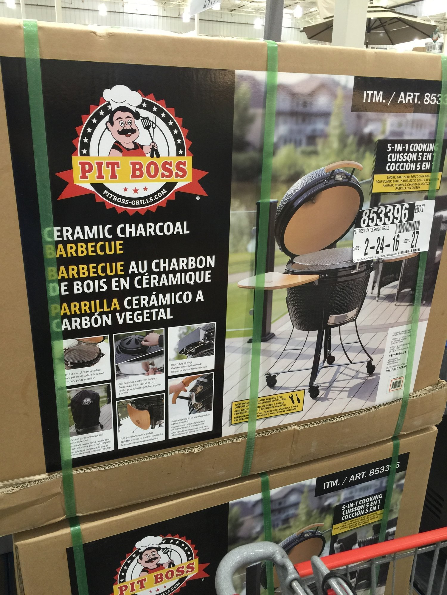 New knock off at Costco — Big Green Egg - EGGhead Forum