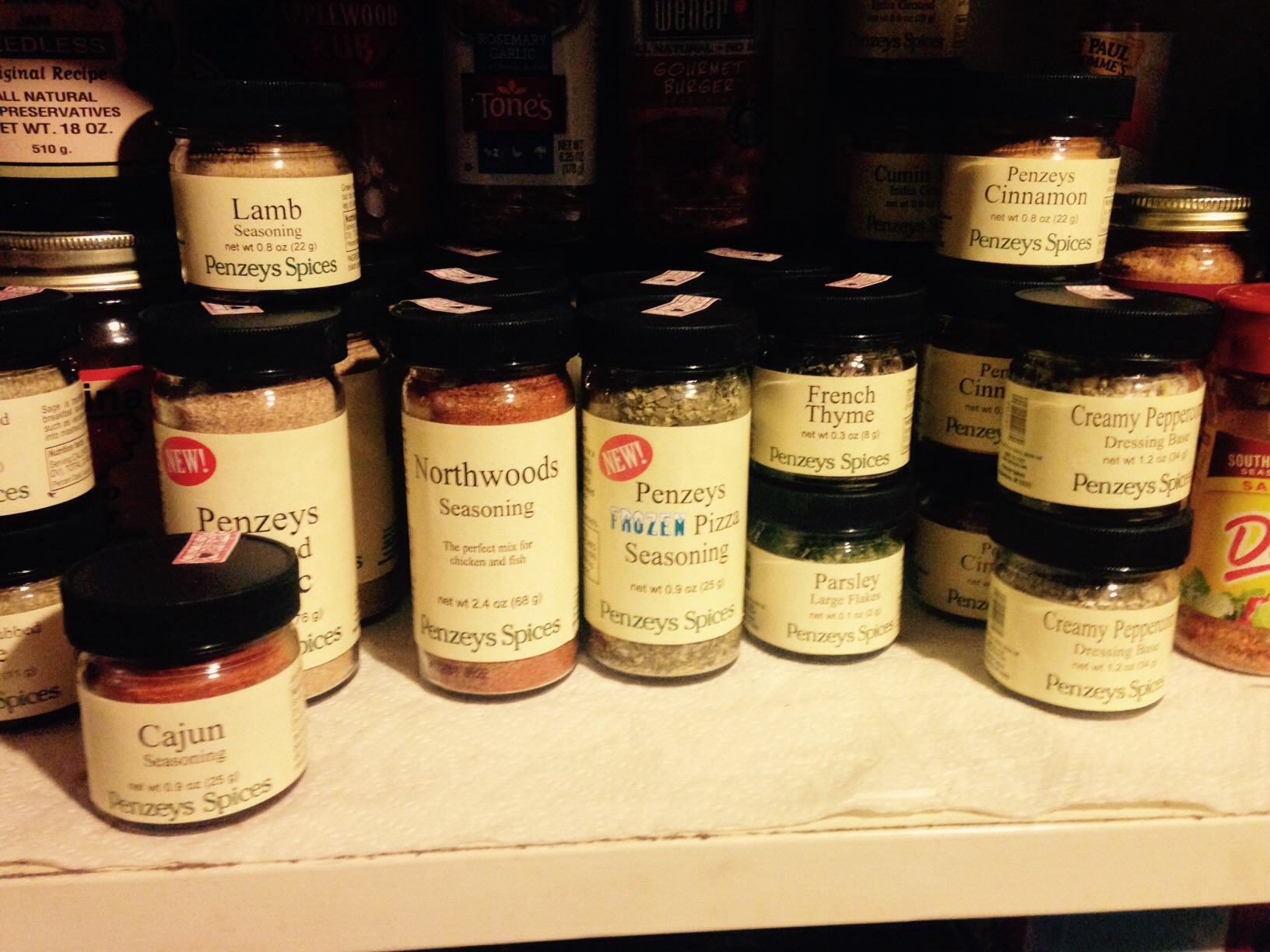 Need some spices? Penzey's will ship for free with $20