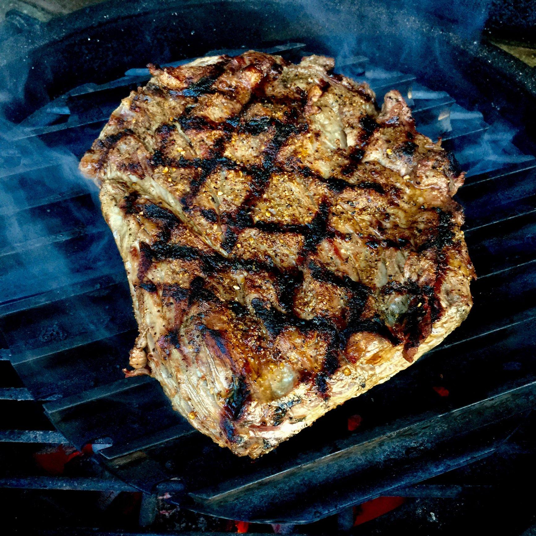 spinalis steak night � big green egg egghead forum the