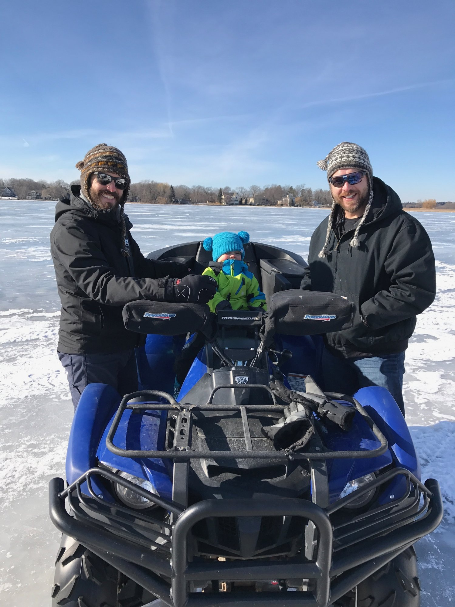 Ice fishing with the mini big green egg egghead forum for Ice fishing forum
